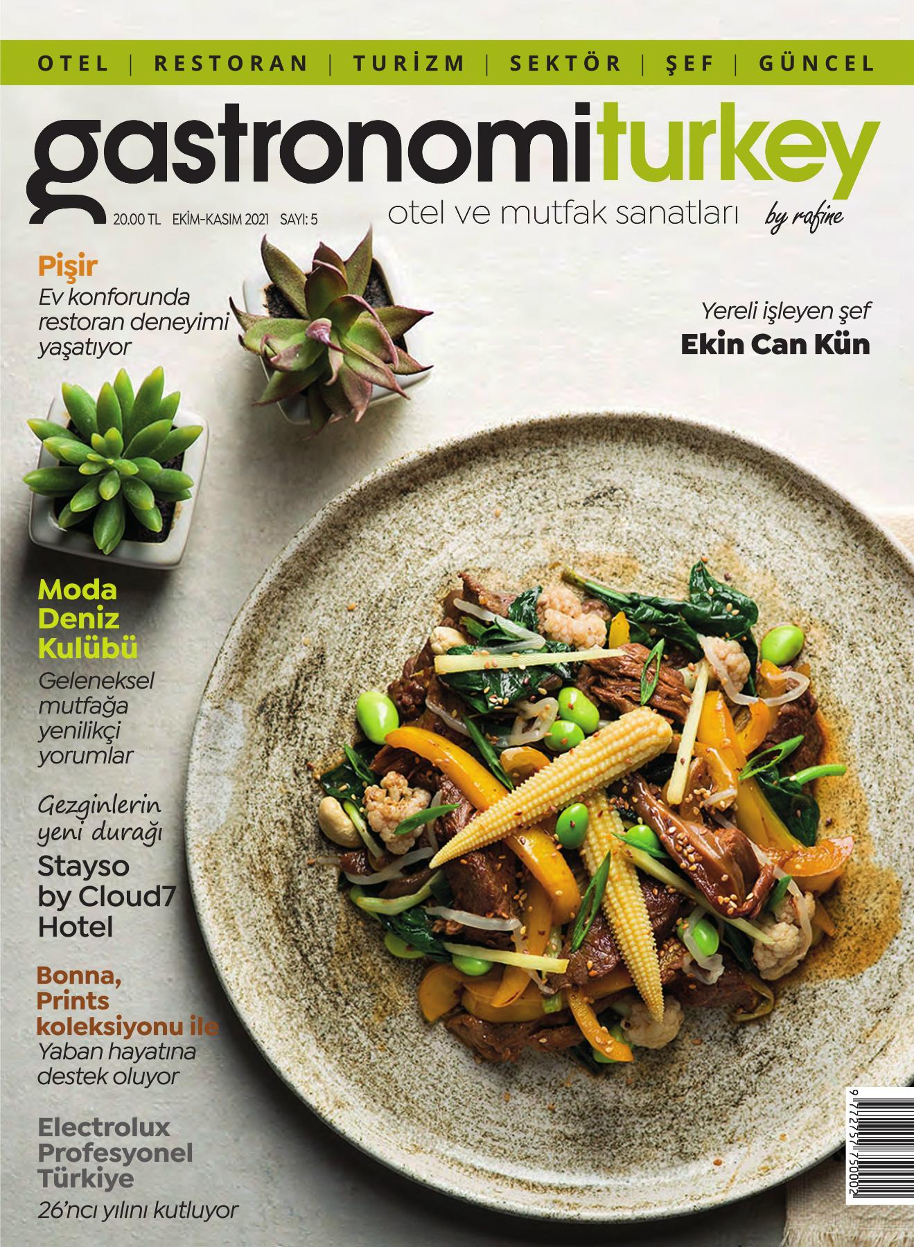 Gastronomi Turkey by Rafine Dergisi